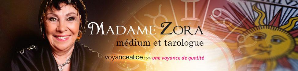 Madame Zora - médium et tarologue depuis plus de 30 ans