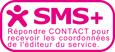 SMS+ - Répondre CONTACT pour recevoir les coordonnées de l'éditeur du service