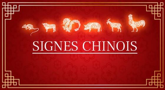 Choisissez votre signe chinois